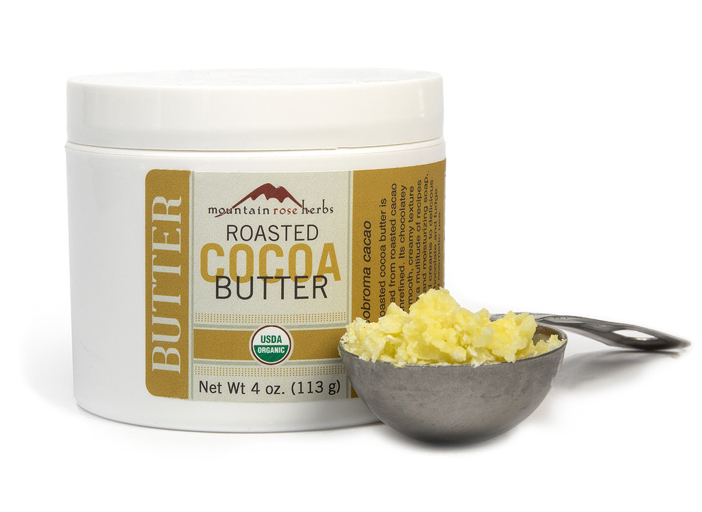 Organic Roasted Cocoa Butter