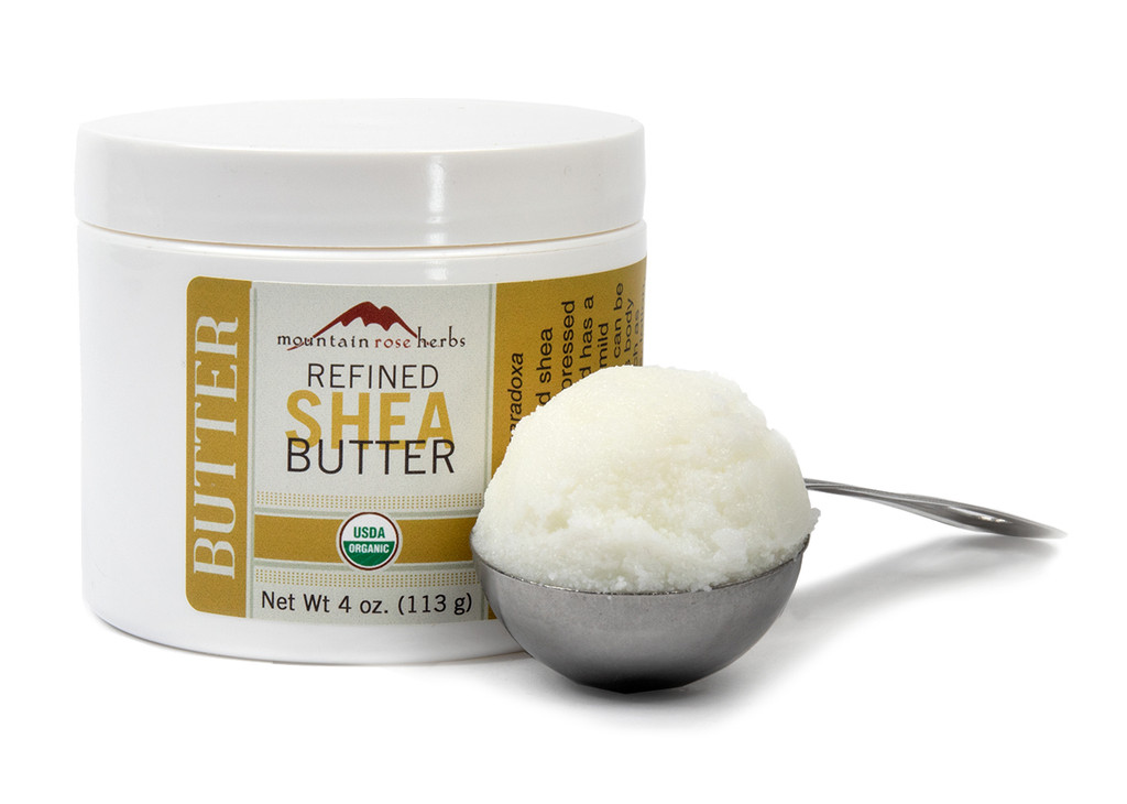 Organic and Fair Trade Refined Shea Butter