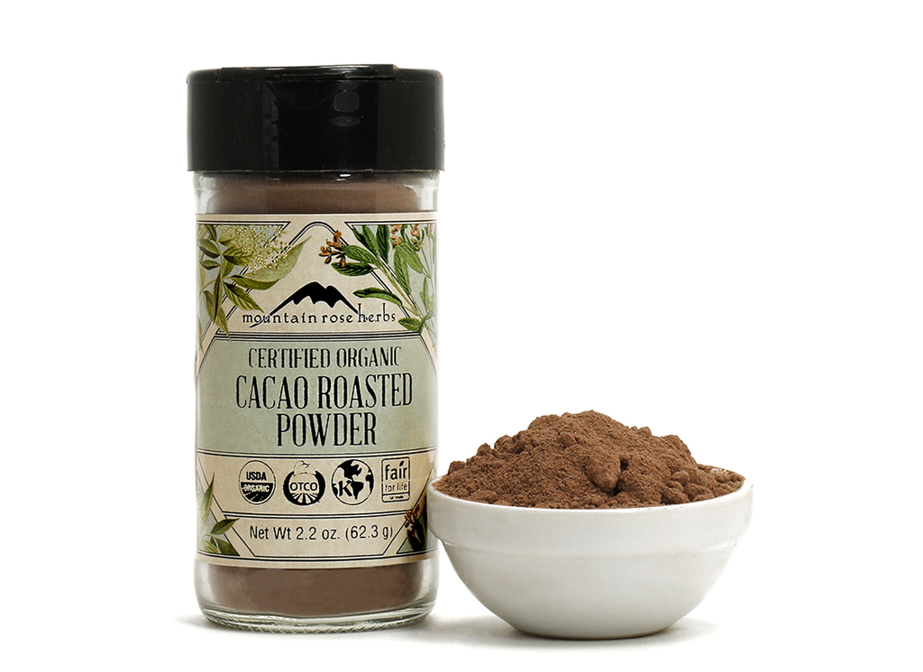 Organic Bottled Roasted Cacao Powder