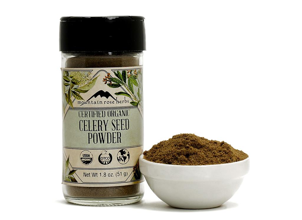 Organic Bottled Celery Seed Powder