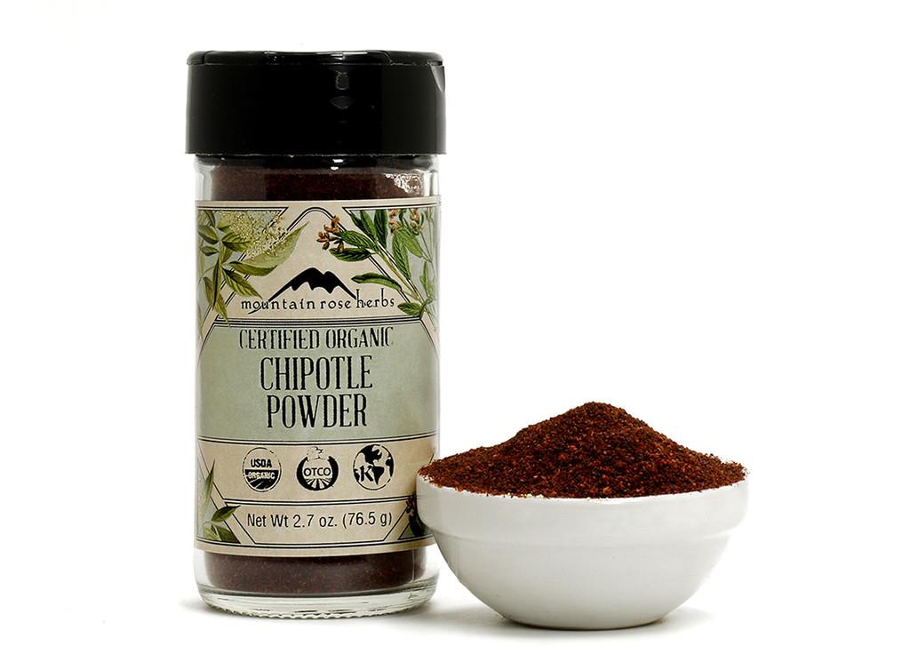 Organic Bottled Chipotle Powder