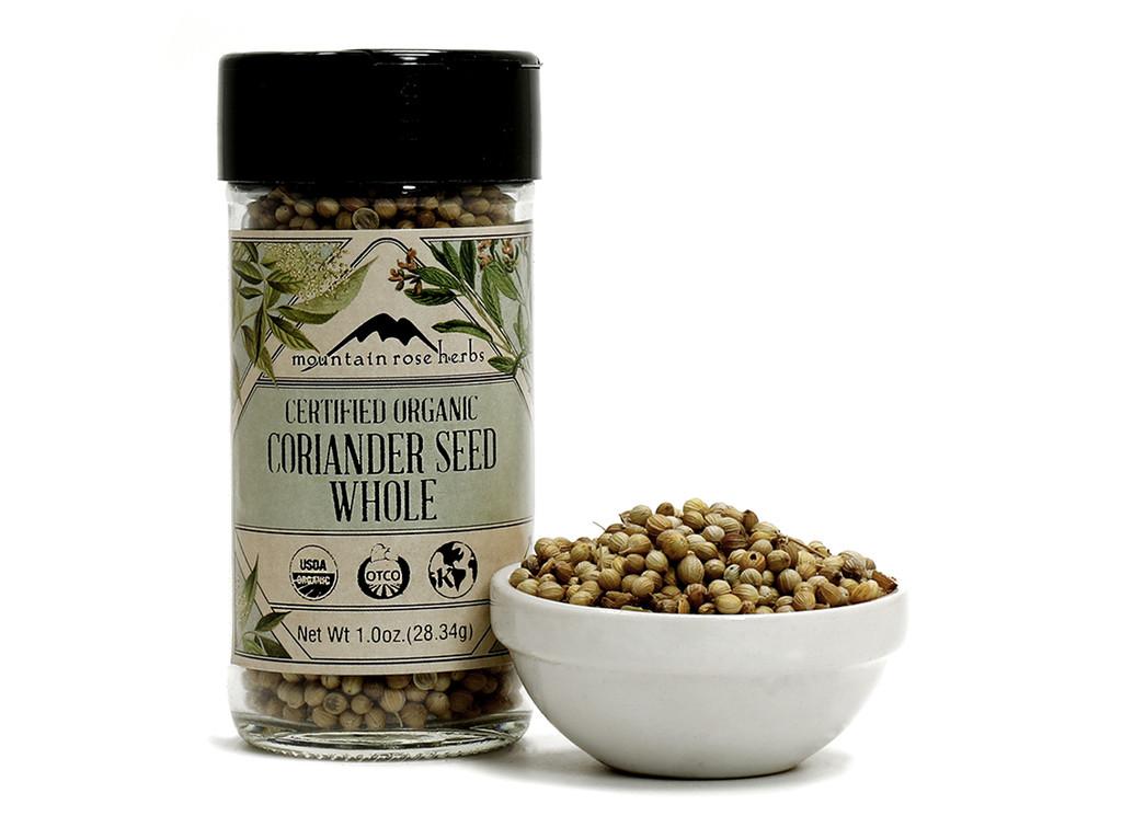 Organic Bottled Coriander Seed