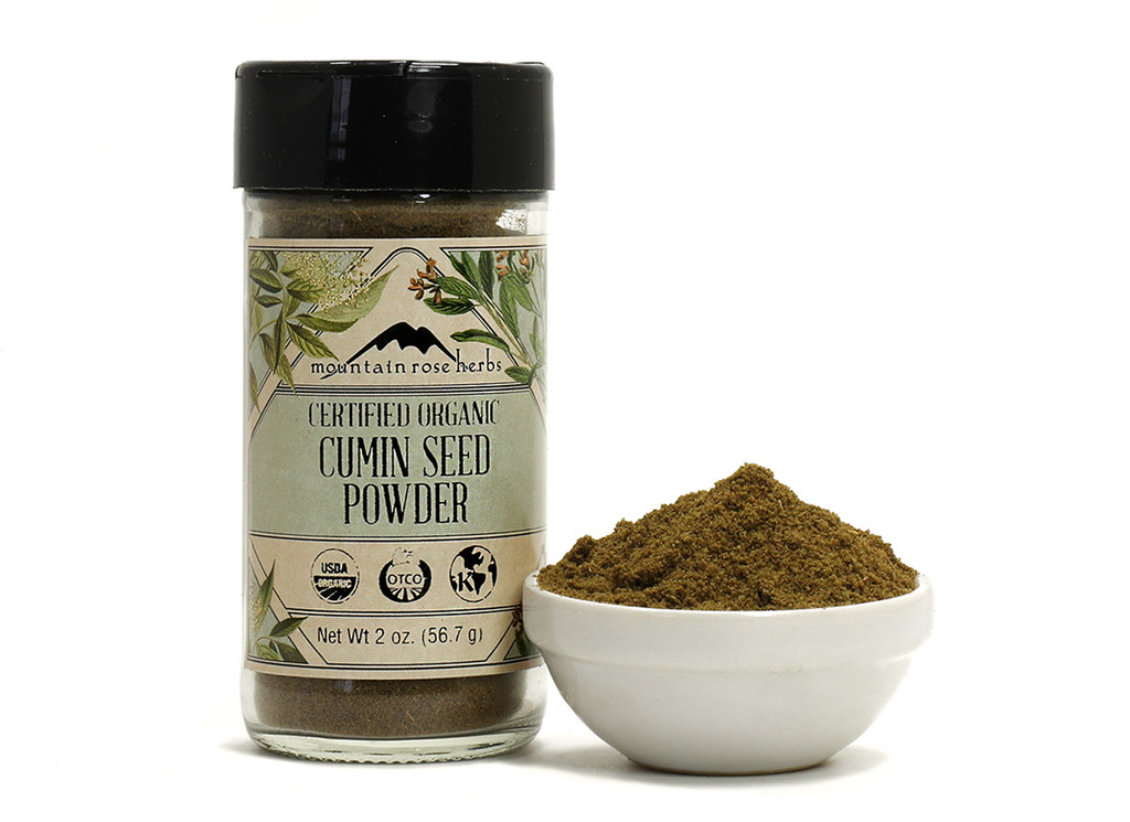 Organic Bottled Cumin Powder