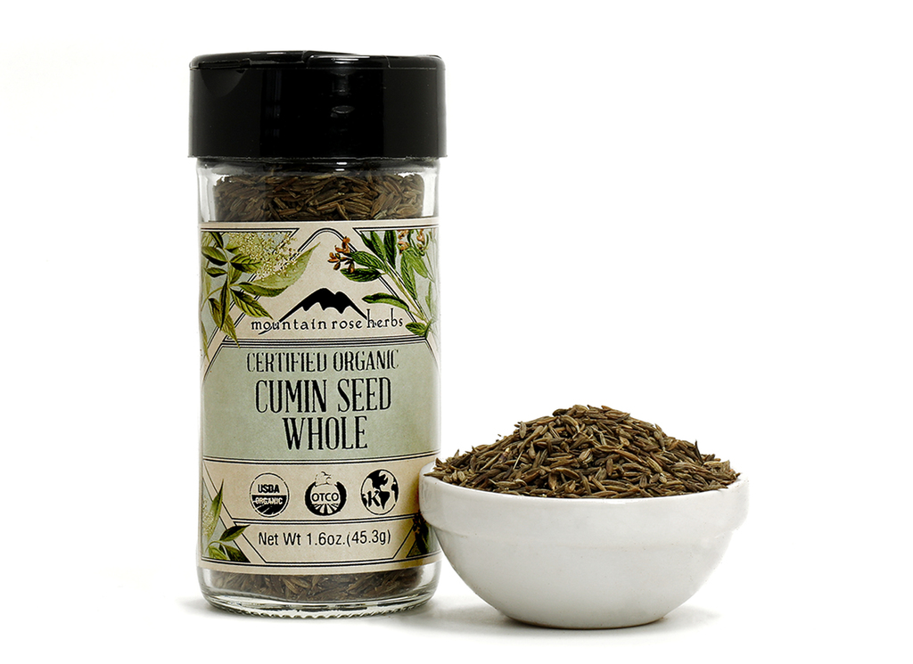Organic Bottled Cumin Seed