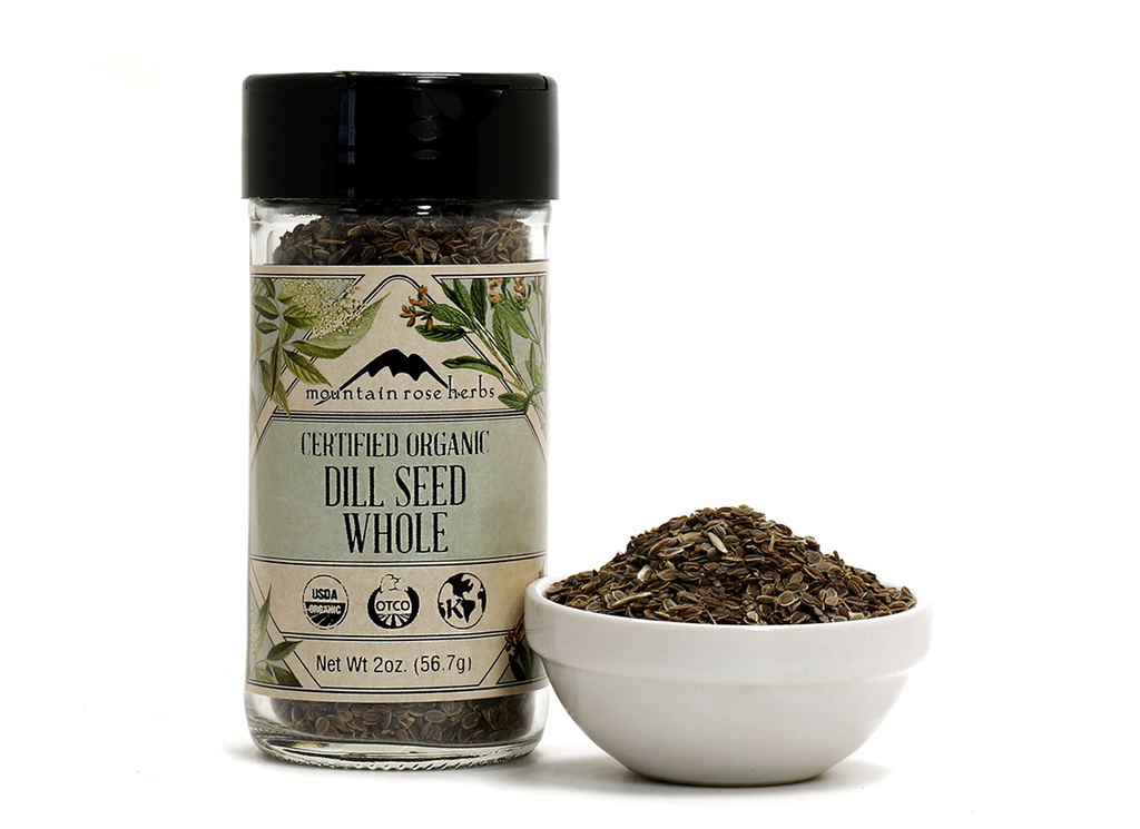 Organic Bottled Dill Seed