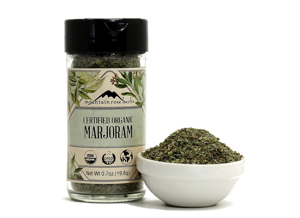 Organic Bottled Marjoram