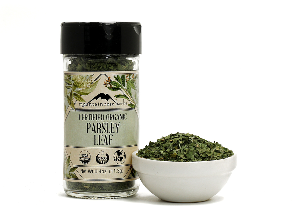 Organic Bottled Parsley Leaf