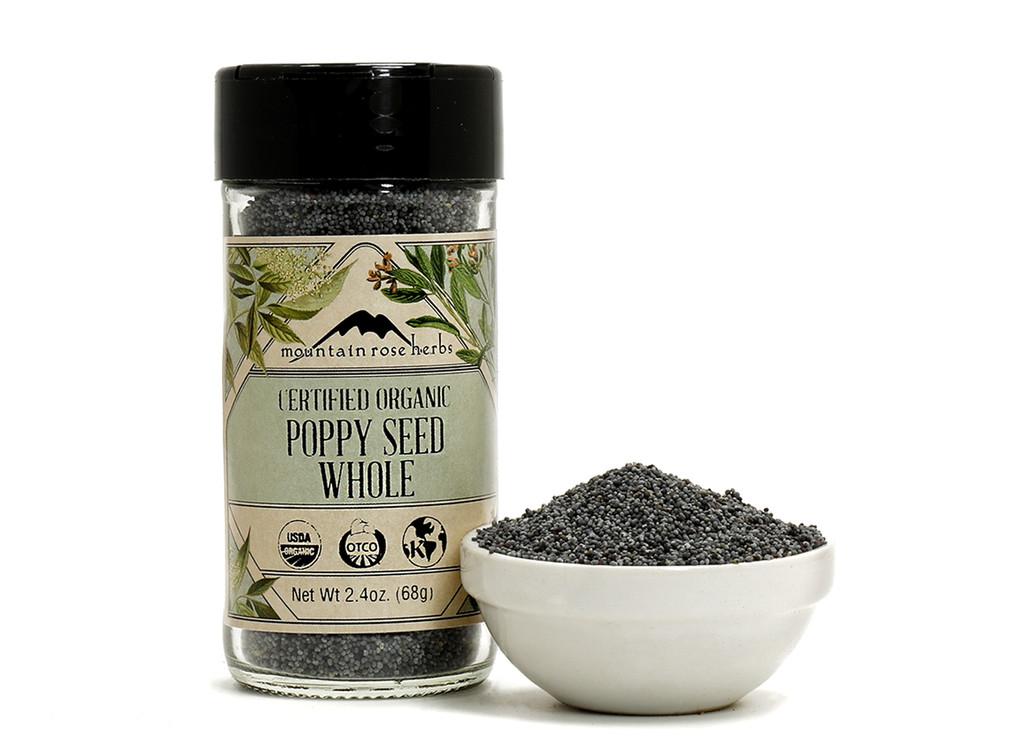 Organic Bottled Poppy Seeds