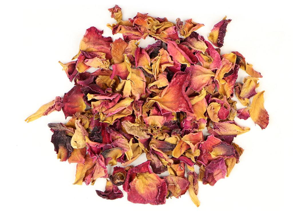 Organic Red Rose Petals