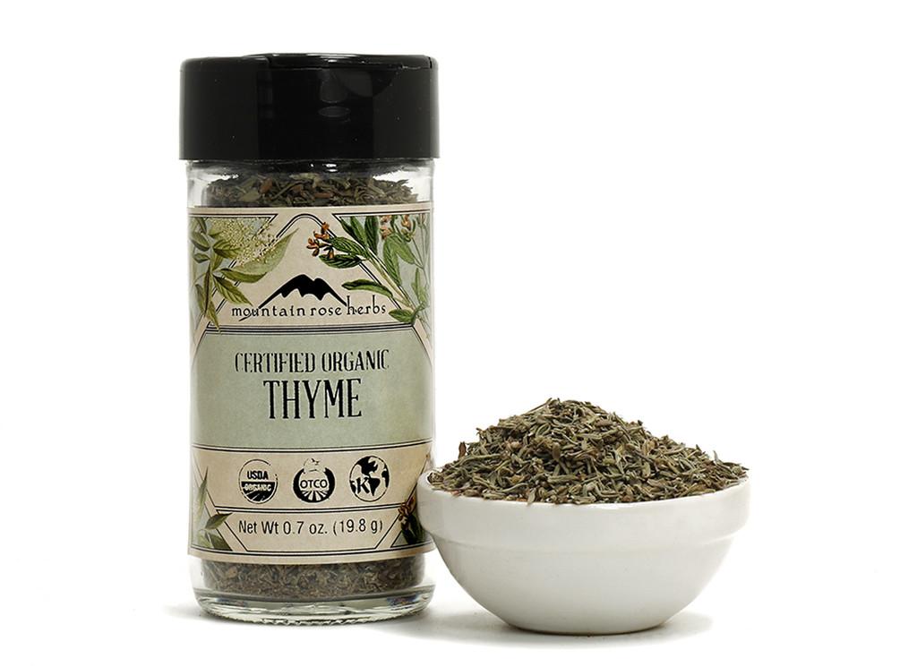 Organic Bottled Thyme Leaf