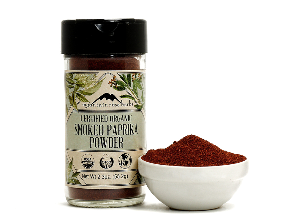Organic Bottled Smoked Paprika Powder