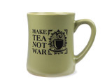 Ceramic Mug, Make Tea Not War