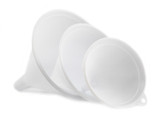 Plastic Funnels, Set of 3