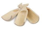 Wooden Scoops, Set of 3