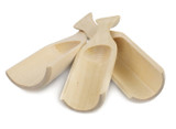 Wooden Scoops, Set of 3