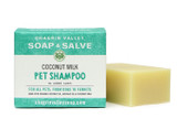 Coconut Milk Pet Shampoo Bar