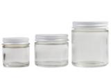Clear Glass Jars