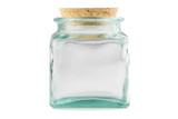 Wide Mouth Glass Jar