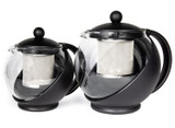 3 cup and 6 cup teapots