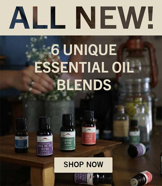 All New Unique Essential Oil Blends