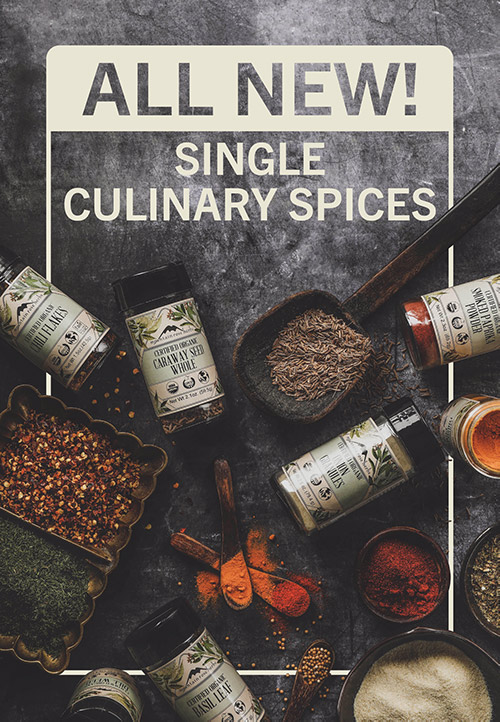 All New Single Culinary Spices