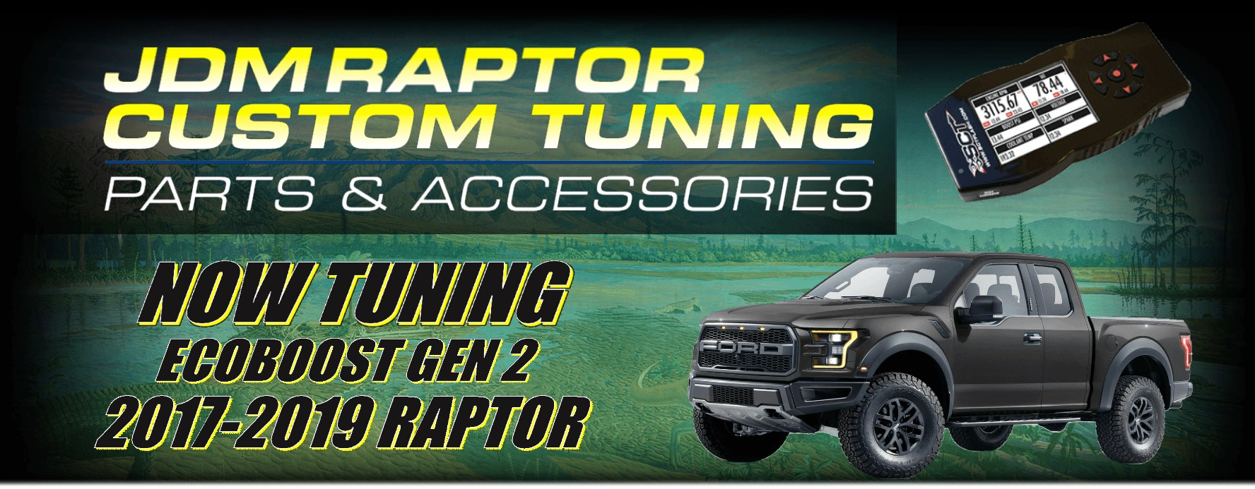 Ford Raptor, Mustang, Shelby, GT500, F-150 Tuning - JDM