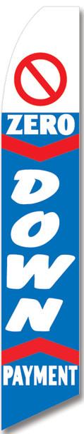Swooper Flag - Blue Zero Down Payment