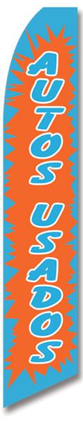 Swooper Flag - Blue Orange Autos Usados