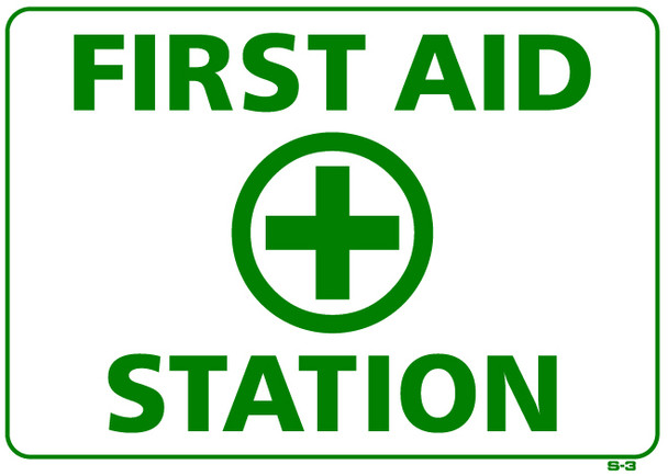 First Aid Station 10 x 14