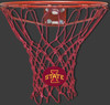 Iowa State University Cardinal Red Basketball Net