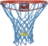 South Dakota State Rabbits Light Blue Basketball Net