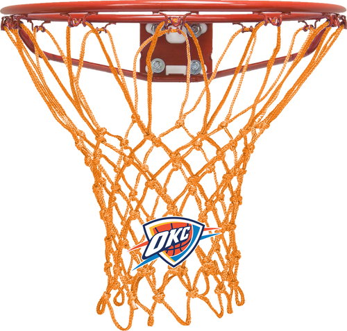 Oklahoma City Thunder Orange Basketball Net