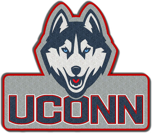 University of Connnecticut UConn Huskies Embroidered Patch