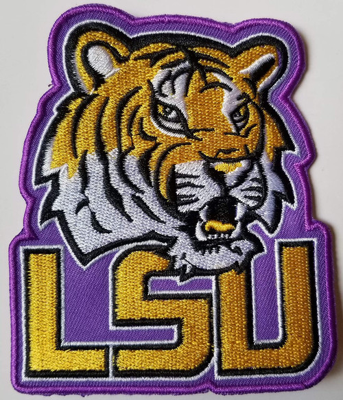 Louisiana State University Tigers Embroidered Patch