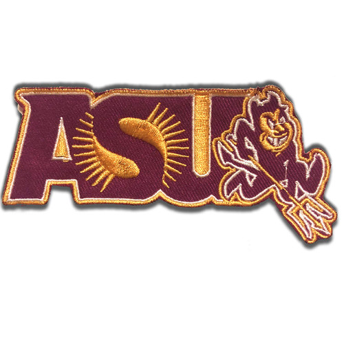 Arizona State University Sun Devils Embroidered Patch