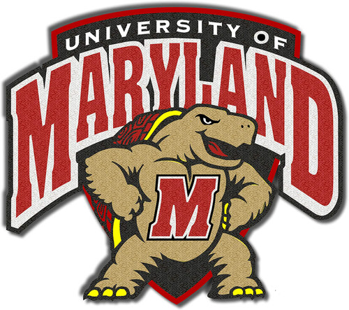 University of Maryland Terapins Embroidered Patch