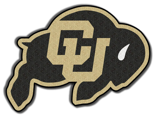University of Colorado Buffalo Embroidered Patch