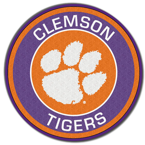 Clemson University Tigers Embroidered Patch