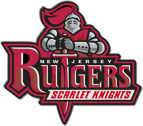 Rutgers University Scarlet Knights Embroidered Patch