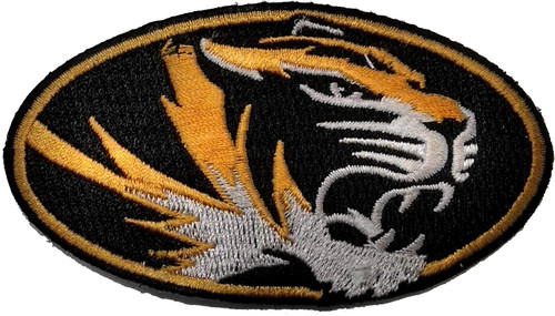University of Missouri Tigers Embroidered Patch Sew-on, Iron-on