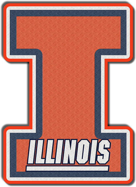 University of Illinois Illini Embroidered Patch