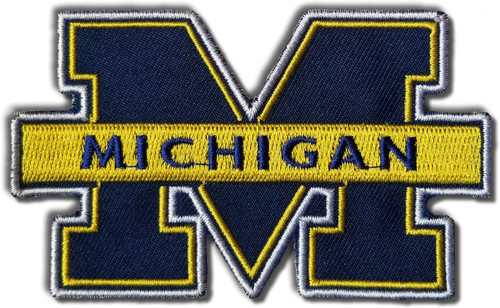 University of Michigan Embroidered Patch