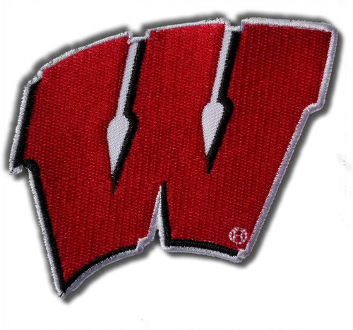 University of Wisconsin Embroidered Patch