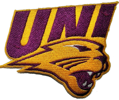 University of Northern Iowa Embroidered Patch