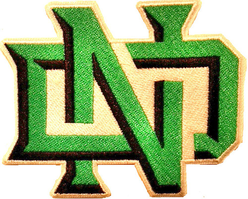 University of North Dakota Embroidered Patch