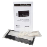 Magnadyne M99XXSDKIT | Class A RV Radio Mounting Adapter Kit for M9900 Series Radio Replacement - Full View