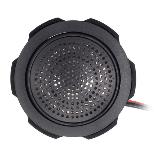 "AquaVibe LS1B | Marine Waterproof 1"" Tweeter (Black) - Front View"