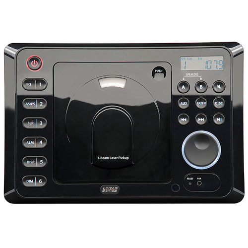 Linear Series RV4500-REFURB | AM/FM/CD/DVD High Power Wall Mount Receiver With Remote Refurbished - Front View