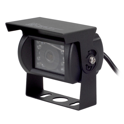 MobileVision C125 | Waterproof Rear View/ Backup Color CCD Camera - 3/4 View