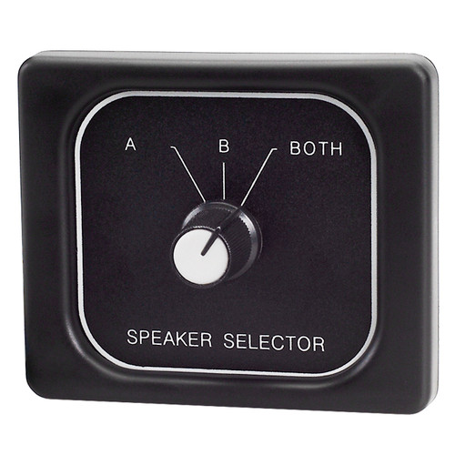 Magnadyne C45-3800A   3 Position Speaker Selector Switch - Front View